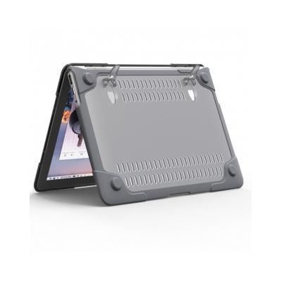 Carcasa protectie spate Heavy Duty cu suport pentru MacBook Air 13.3 inch