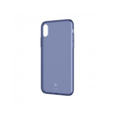Carcasa protectie spate din gel TPU cu dopuri anti-praf pentru iPhone X 5.8 inch - amipus.ro