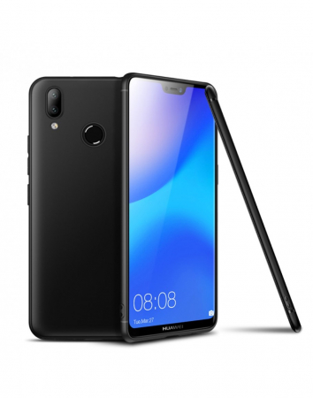 Carcasa protectie spate din gel TPU pentru Huawei P20 Lite