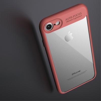 Carcasa protectie spate din gel TPU si acrilic pentru iPhone 8/iPhone 7