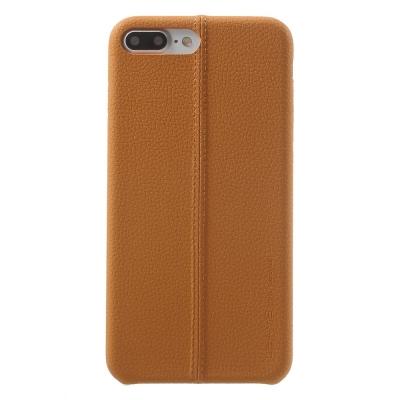 Carcasa protectie spate din piele ecologica si plastic pentru iPhone 8 / 7 4.7 inch