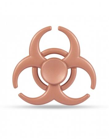 """Jucarie antistres Fidget Spinner cu model """"Toxic"""""""