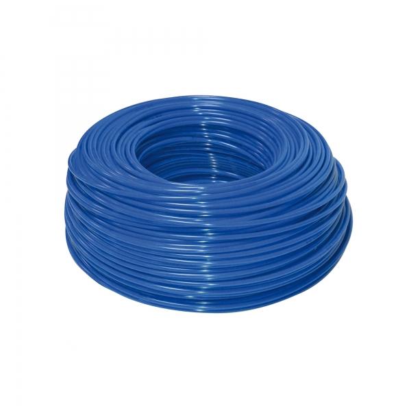 "Furtun flexibil polietilena 3/8"" ( 9 mm ) albastru"