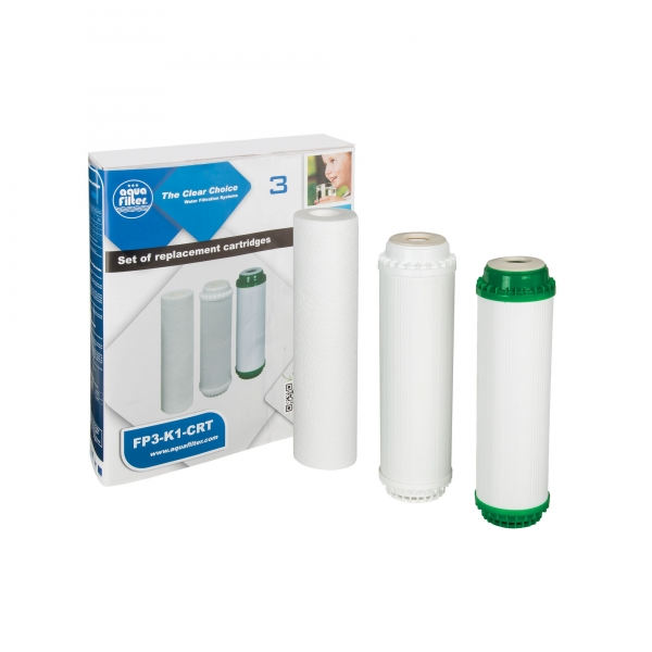 Set cartuse filtrante Aquafilter FP3-K1-CRT