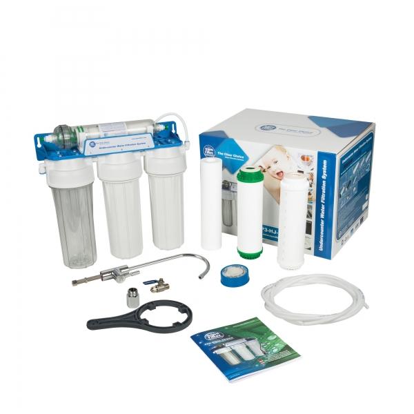 Sistem de ultrafiltrare al apei in 4 etape Aquafilter FP3-HJ-K10