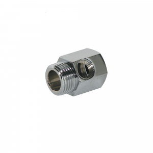"Adaptor reductie din alama 3/4"" FE - 3/4"" FI - 1/4"" FI - FT07"