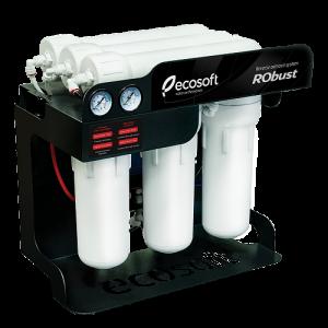 Sistem de filtrare al apei profesional cu osmoza inversa Ecosoft RObust 60 L/h
