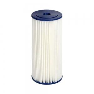 "Cartus filtrant lavabil din poliester plisat BigBlue 10"" FCCELxM10BB"