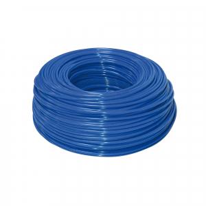 "Furtun flexibil polietilena 1/4"" ( 6 mm ) albastru"
