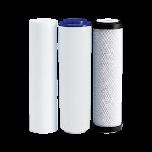 Set filtre de schimb Plus Ecosoft 1-2-3 pentru sisteme de filtrare