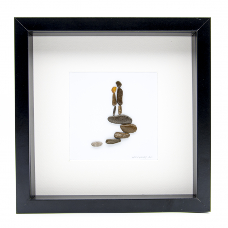 Tablou ' Me and You ' - Colectia Pebble Art