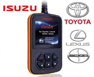 Toyota , Lexus , Isuzu , Scion