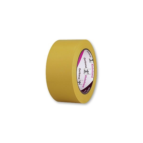 Banda PVC UV galbena 50mm/33m