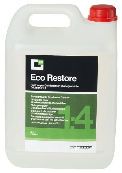 Solutie curatare sistem climatizare condensatoare AC ERRECOM ECO RESTORE concentrat 1: 4 5 litri