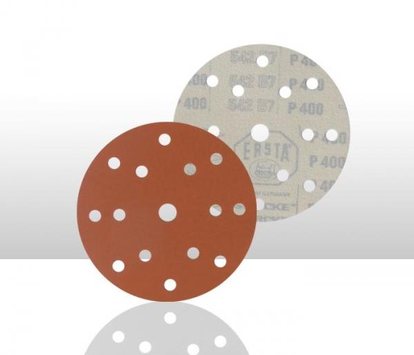 Disc abraziv ERSTA 542 15 gauri 150mm P220 100 bucati