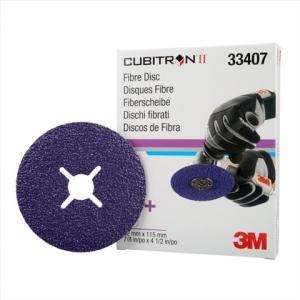Disc de fibră 3M Cubitron II 115mmx22mm (5 discuri / cutie)