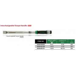 Cheie dinamometrica 40-210Nm 510mm  Toptul
