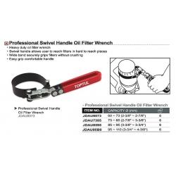 Cheie filtru ulei cu curea 85-95mm  Toptul