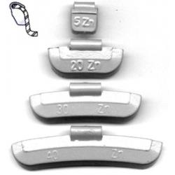Petec vulcanizare - diametru 30mm 100buc/set