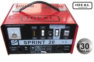 Redresor curent Incarcator acumulatori 12 24 V acumulatori cu acid Sprint 20