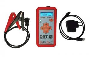 Tester baterie DTE 12V alternator si electromotor