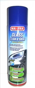 Spray Spuma Activa Geamuri 500 ml Glass Clean&Shine   Ma-Fra