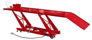 Cric motocicleta pneumatic hidraulic mobil 450kg 180-780mm cu pompa pneumatica de control
