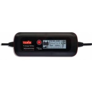 Redresor curent T-Charge 12 Evo portabil incarcare baterii acid 6V 12V gel AGM MF EFB Li 230V