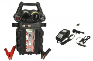 Robot de pornire Booster P7-1224V 12/24V 2500/5000A 150cm