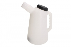 Recipient lichide cu varf flexibil si capac 1 litru