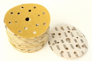 Disc abraziv Hookit P120 galben 100 bucati