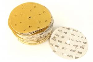 Disc abraziv Hookit P180 galben 100 bucati