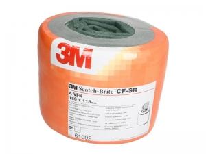 Burete abraziv Scoth Brite Pre Cut 115 x 150 mm x 35 bucati veerde