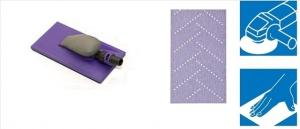 Kit Coli abrazive Hookit Purple Multihole+ Bloc 115x225mm   3M