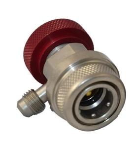 Cupla rapida rosie sistem AC auto circuit inalta presiune 1/4 16mm