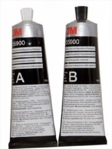 Kit bicomponent A+B reparatie material plastic 2x150ml   3M