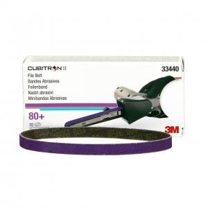 Set 10 benzi Cubitron II FIle Belt P80  3M