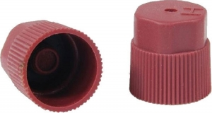 Set 10 bucati cap rosu ventil HP presiune inalta sistem climatizare aer conditionat Magneti Marelli