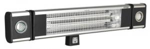 Sistem incalzire Incalzitor inalta performanta cu fibra de carbon cu infrarosu 1800W/230V 2 lampi lucru LED