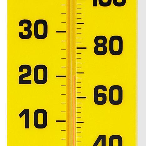 Termometru sala de clasa - 38 cm