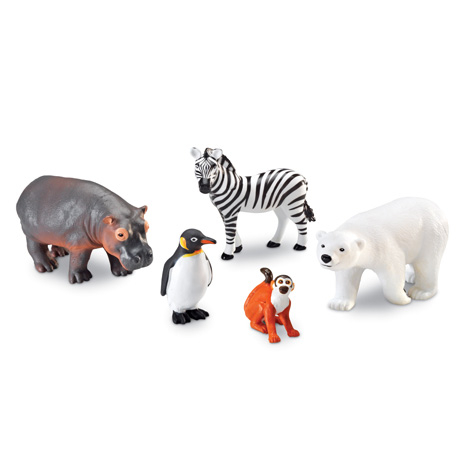 Animale de la Zoo - Set figurine mari