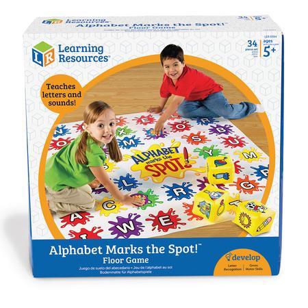 Saltea de activitati - Alphabet Marks the Spot - Gradinita sau acasa