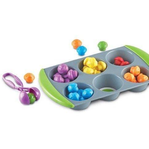Mini Muffin - Set sortare culori