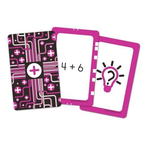 Invata adunarea - Set carti de joc Figuro