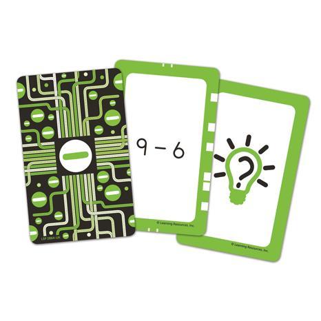 Invata scaderea - Set carti de joc Figuro
