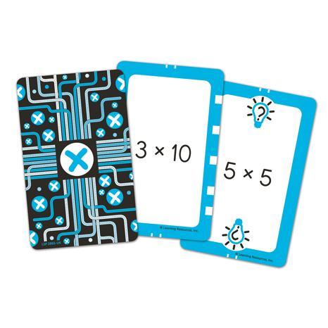 Invata inmultirea - Set carti de joc Figuro