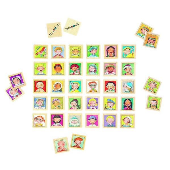 Twinis memo - set stimulare memorie si invatare culori