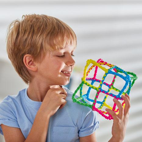 Set constructie cu piese STEM