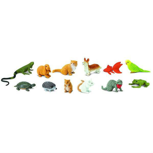 Animale de Companie - Safari - Set 12 Figurine