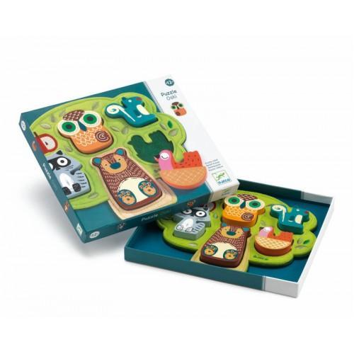 Puzzle cu animale Oski
